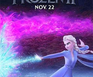 冰雪奇缘2角色海报 主角集体回归