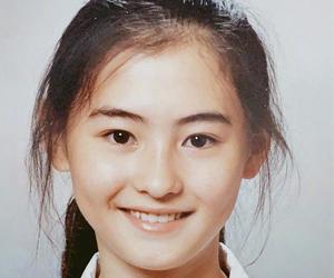 张柏芝学生时期证件照 女神从小美到大