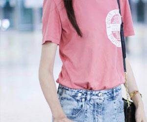 粉色短袖怎么搭配?粉色短袖怎么搭好看