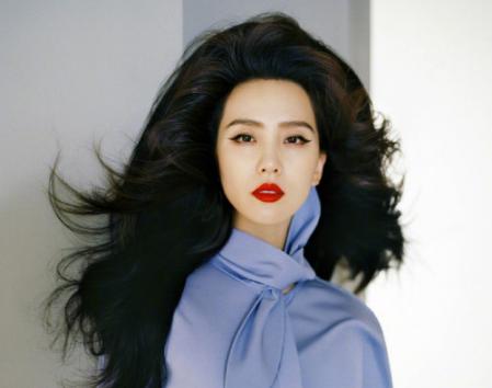 刘诗诗复古蜂窝头 另类发型另类魅力