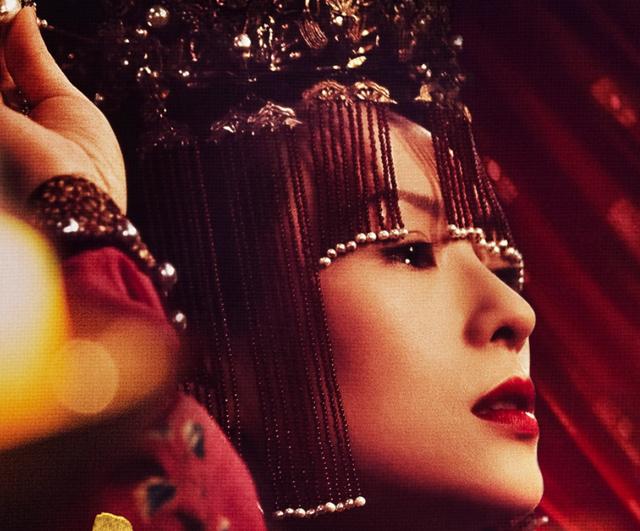 章子怡新剧造型 《上阳赋》剧照眼神全是戏