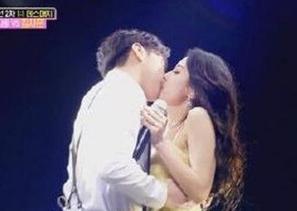 李晟敏与妻子热舞接吻拉票失败 这就有点尴尬了