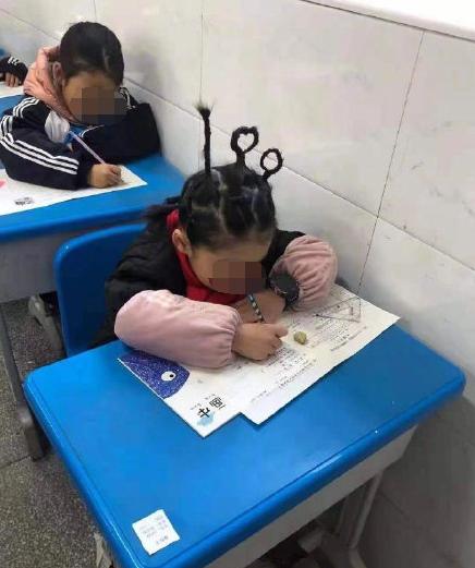 期末考试必备发型 都是家长的殷切希望啊