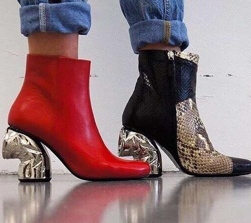 易拉罐高跟鞋