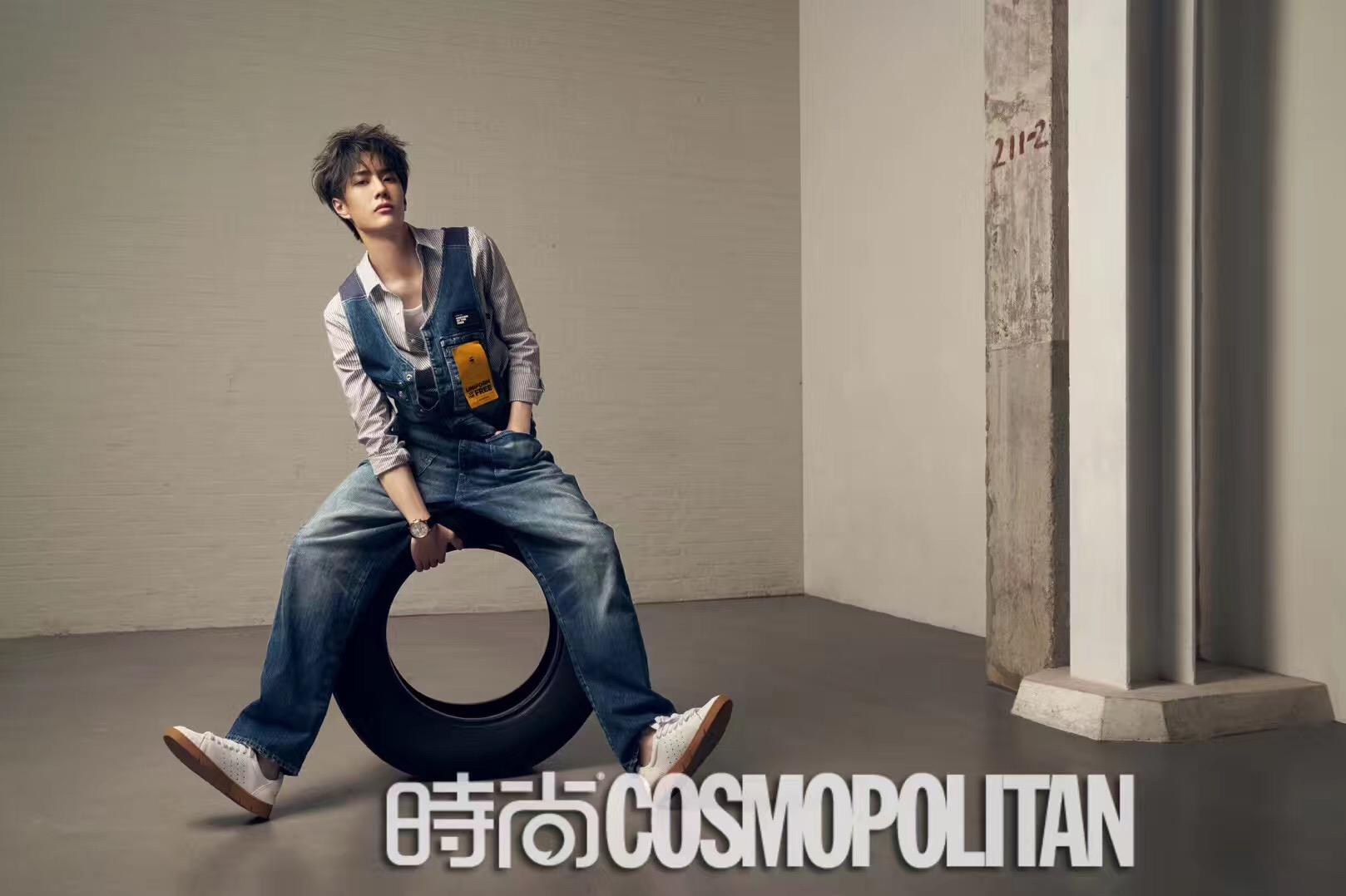 王一博COSMO三月刊封面