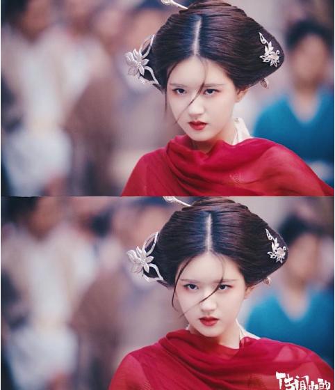 《传闻中的陈芊芊》赵露思红衣造型