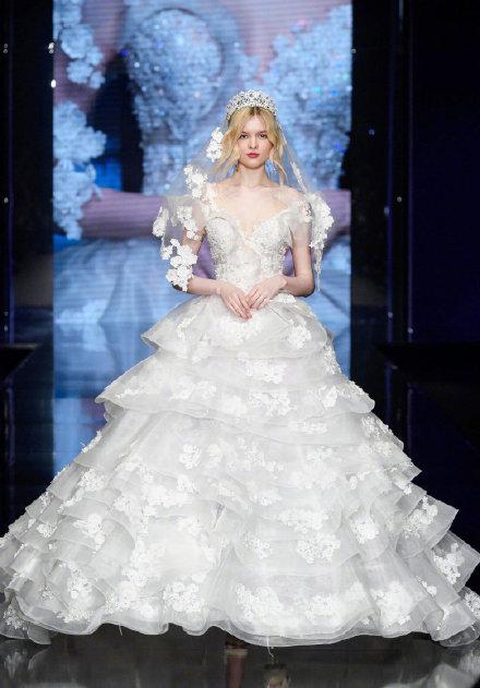 满足万千少女梦想的婚纱 这样的婚纱居然真的存在