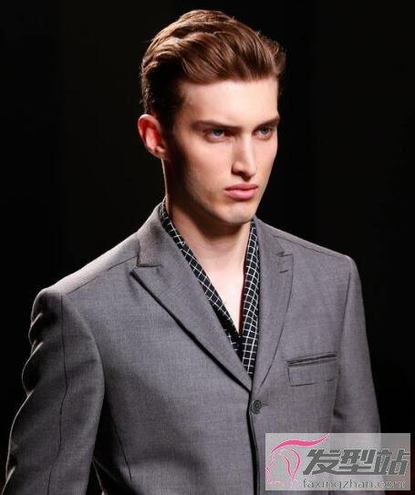 英伦绅士复古发型 尽显帅气成熟男人味