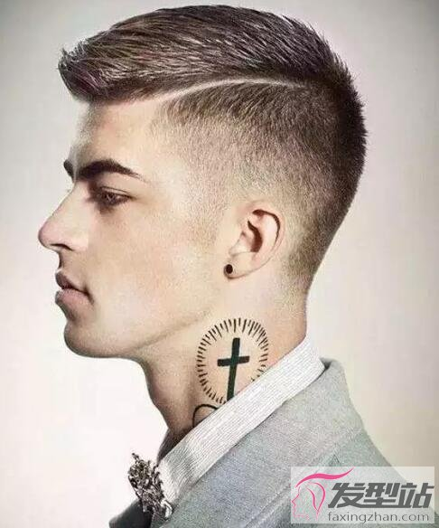 男生适合剪什么发型 Undercut发型尽显酷炫男人味