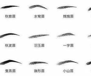 什么是标准的眉形?怎样画出标准的眉形