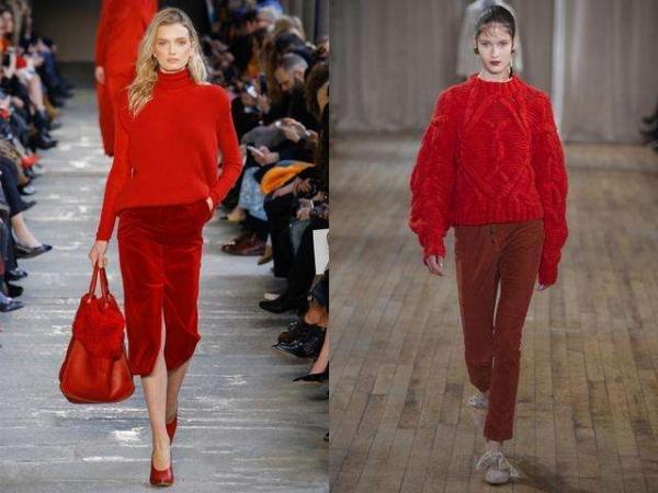 酒红色裤子搭配_成熟女性酒红色裤子怎么穿搭4.jpg
