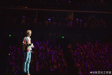 张艺兴首次个人巡演开启 张艺兴出道七年终于达到目标3.jpg