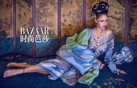 蕾哈娜唐朝造型 网友:果然是最适合中国风的外国人1.jpg