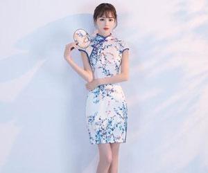 中国风旗袍连衣裙的魅力 温婉居家就是你