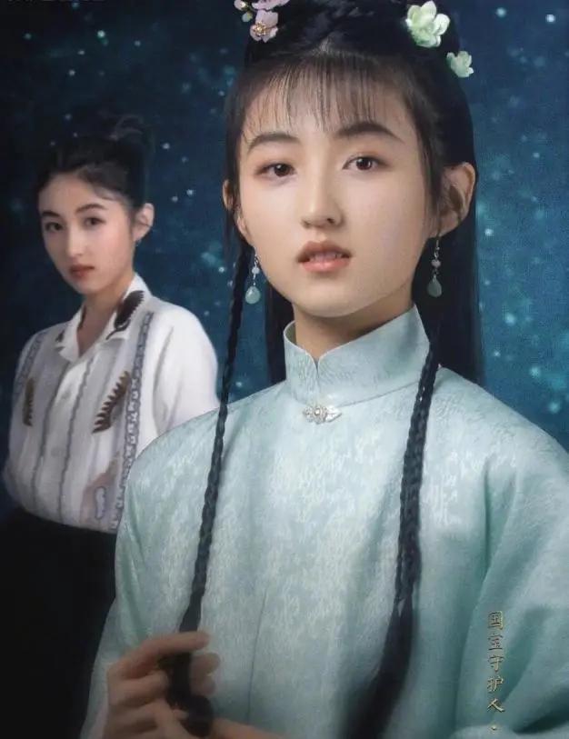 张子枫古装造型 吾家有女初长成既视感