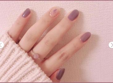 这个秋天你美甲了吗?温柔紫,豆沙粉,南瓜红打造属于你的独特