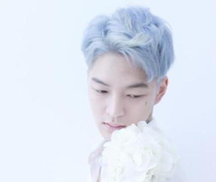男生染发首选发色 蓝色染发效果图