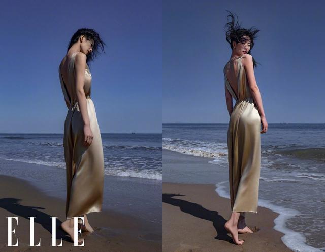 刘雯海滩大片 这就是超模的魅力