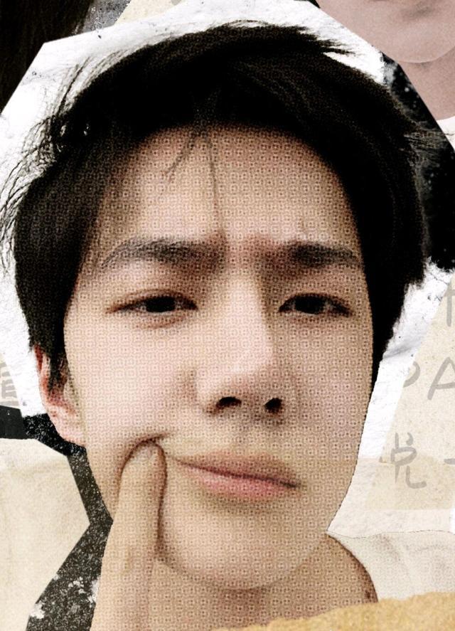王一博新歌封面自拍