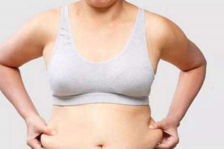 女人减掉大肚腩的两个小技巧