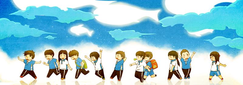 孩子高考完发朋友圈 乖乖高考结束后就要离家飞了