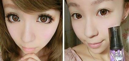 日系大眼妆的画法 简单步骤打造清透妆容
