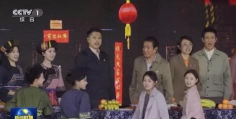 新闻联播里的刘诗诗 少数民族服装太惊艳