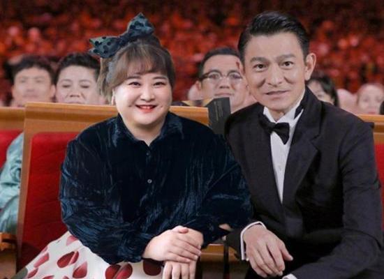 贾玲为偶像刘德华庆生