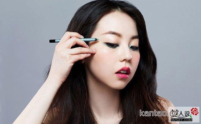 单眼皮怎么画眼线好看 让你瞬间变大眼的眼妆化法