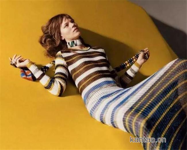 针织裙显胖吗 一条秋冬针织裙穿出又瘦又美风格