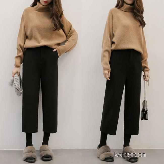 阔腿裤怎么穿好看 秋冬阔腿裤搭配技巧显高显瘦就这么简单
